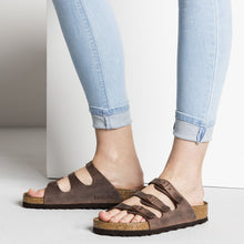 Load image into Gallery viewer, Birkenstock Florida Oiled Leather Habana