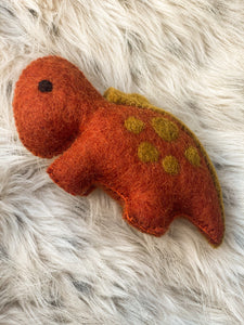 Felt Dinosaurs by Papoose - 5 colours to choose