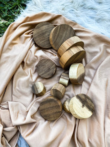 Wooden Disc Set - Loose Parts Play