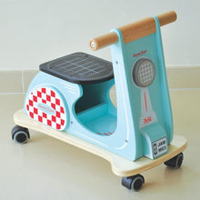 Load image into Gallery viewer, Retro Scooter by Indigo Jamm