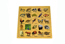 Load image into Gallery viewer, Animal Skin Matching Puzzle