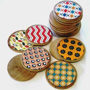 Retro Wooden Memory Game