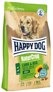 Happy Dog NaturCroq Lamb & Rice Dog Dry Food (3 Sizes)