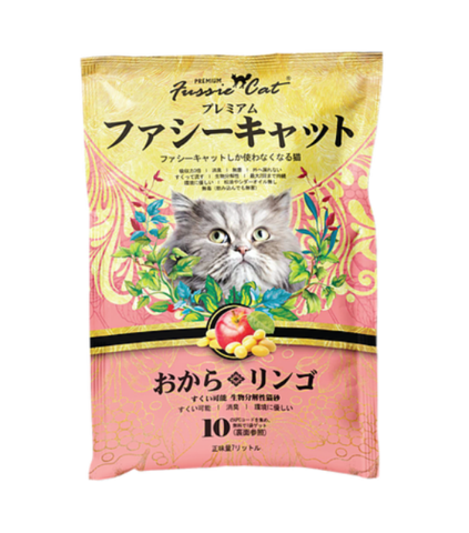 Fussie Cat Japanese Soybean Litter Apple 7L