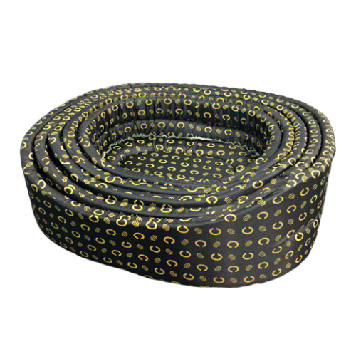 Pet Bed Circular Soft Bed in Black