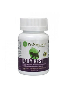 Pet Naturals Daily Best for Cats 100 tablets