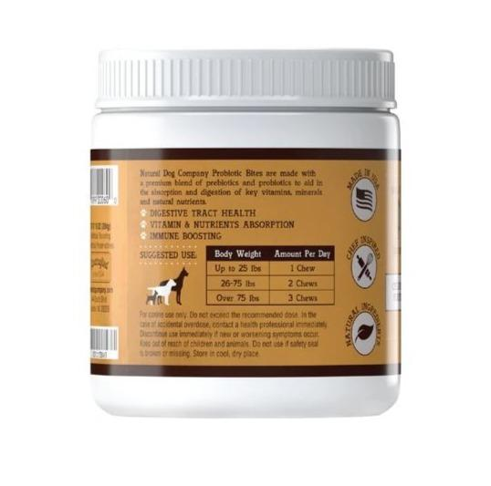 Natural Dog Company's Probiotic Supplement for Dogs (90 tablets)