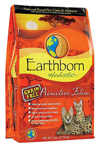 Earthborn Holistic® Natural Grain-Free Primitive Feline™ Cat & Kitten Food