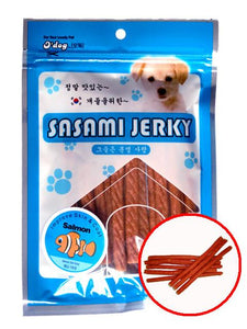 D'Dog Sasami Jerky Salmon Stick Dog Treats