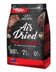Absolute Holistic Air Dried Beef & Venison Dog Food (2 Sizes)