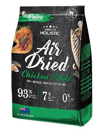 Absolute Holistic Air Dried Chicken and Hoki Dog Food | Waggymeal Online Pet Store Malaysia