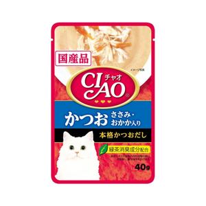 Ciao Soup Stock Tuna (Maguro) & Chicken Fillet 40g