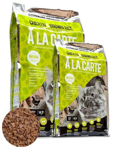 Ala Carte Chicken and Brown Rice Cat Dry Food (5 Sizes)