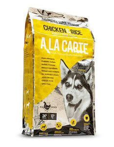 Ala Carte Chicken and Rice Dog Dry Food (2 Sizes)