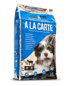 Ala Carte Lamb and Rice Dog Dry Food (2 Sizes)