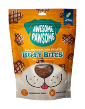 Load image into Gallery viewer, Awesome Pawsome Beefy Bites All Natural Dog Treats 85g | Waggymeal Online Pet Store Malaysia