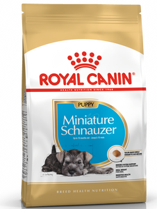 Royal Canin Breed Health Nutrition Miniature Schnauzer Puppy Dry Dog Food ( 3kg )