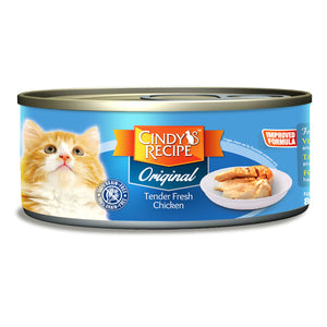 Cindy Original Tender Fresh Chicken Cat Wet Food 80g