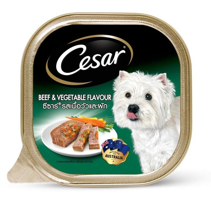 Cesar Beef & Vegetables Dog Wet Food (100g)