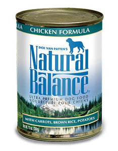 Natural Balance Chicken Formula Dog Wet Food 369g (13oz.)