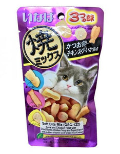 Ciao Inaba Soft Bits Scallop & Chicken Flavor Cat Treat