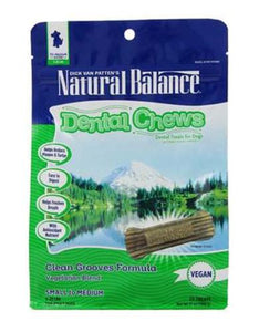 Natural Balance Clean Grooves Formula (Vegetarian Blend) Dog Treats 13oz (369g) (2 Sizes)