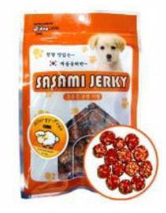 D'Dog Sasami Jerky Lamb with Rice Ball Dog Treats