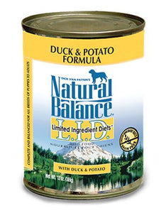 Natural Balance Duck & Potato Formula Dog Wet Food 369g (13.2oz.)