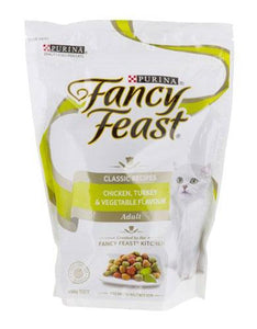 Fancy Feast Chicken Turkey & Vegetable Cat Dry Food 1.2kg