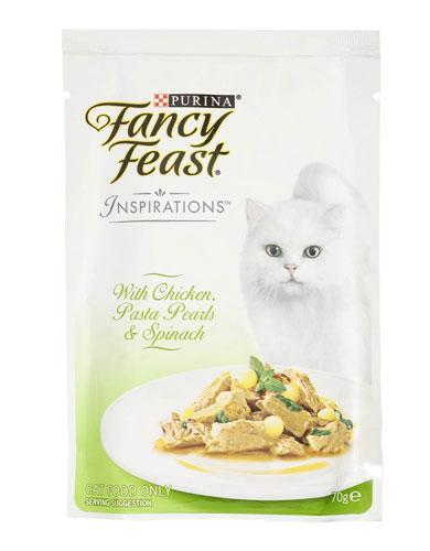 Fancy Feast Inspirations Chicken Silky Pasta Cat Wet Food | Waggymeal Online Pet Store Malaysia