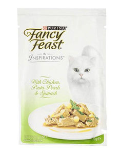 Fancy Feast Inspirations Chicken Silky Pasta Cat Wet Food 70g