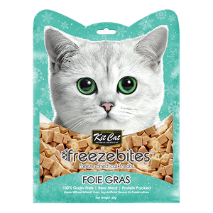 Kit Cat Freeze Bites Foie Gras Freeze Dried Cat Treats 20g
