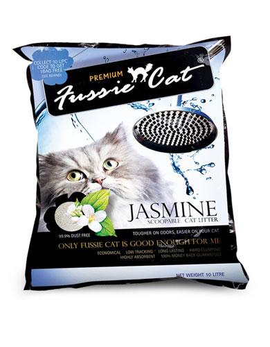 Fussie Cat Jasmine Cat Litter ( 2 Sizes ) | Waggymeal Online Pet Store Malaysia