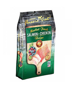 Fussie Cat Market Fresh Salmon & Chicken Recipe Dry Cat Food ( 3 Sizes )