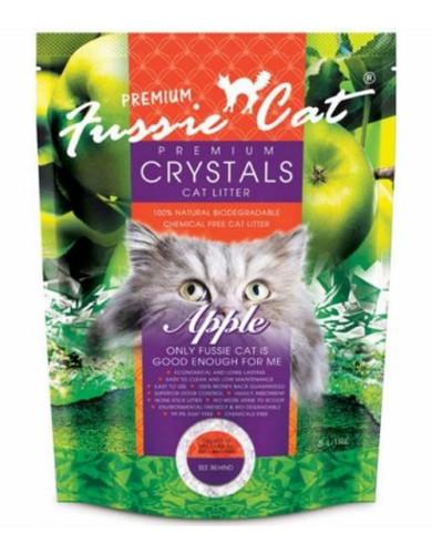 Fussie Cat Crystal Litter Apple (2 Sizes) | Waggymeal Online Pet Store Malaysia