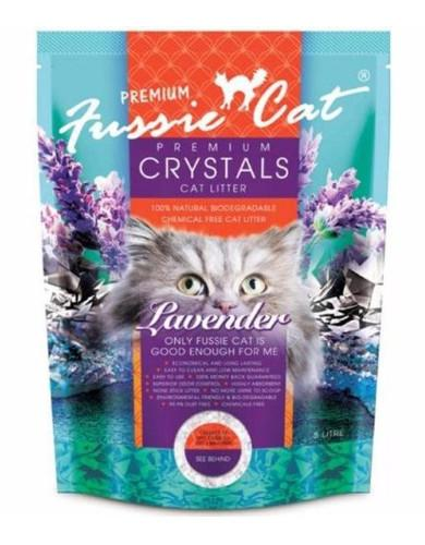 Fussie Cat Crystal Litter Lavender (2 Sizes) | Waggymeal Online Pet Store Malaysia