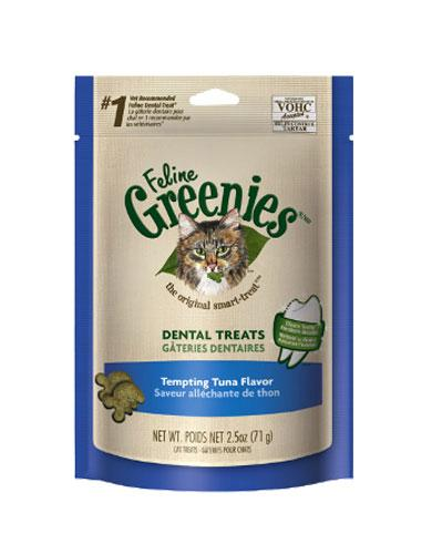 Feline Greenies Savory Tuna Cat Treats ( 3 oz ) | Waggymeal Online Pet Store Malaysia