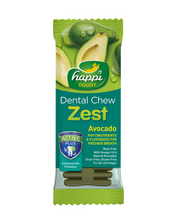 "Load image into Gallery viewer, Happi Doggy Dental Chew Zest Avocado 4""- 50Pcs 