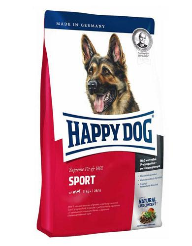Happy Dog Fit & Well Sport Adult Dog Dry Food | Waggymeal Online Pet Store Malaysia