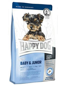 Happy Dog Mini Baby Junior Dog Dry Food (2 Sizes)