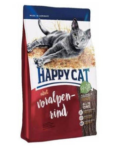 Happy Cat Supreme Voralpen-Rind (Bavarian Beef) Cat Dry Food (4 Sizes)