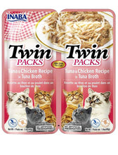 Load image into Gallery viewer, Inaba Cat Twin Packs Tuna & Chicken Recipe in Tuna Broth Cat Wet Food 80g| Waggymeal Online Pet Store Malaysia