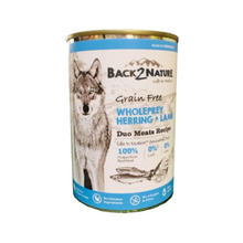 Load image into Gallery viewer, Back 2 Nature Herring & Lamb Dog Wet Food 400g