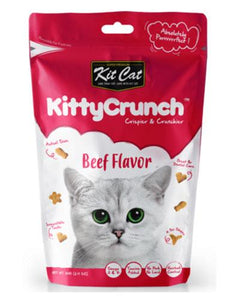Kit Cat Kitty Crunch Beef Cat Treat 60g