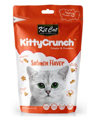 Kit Cat Kitty Crunch Salmon Cat Treat | Waggymeal Online Pet Store Singapore