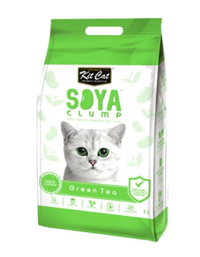 Kit Cat Soya Clump Green Tea Cat Litter | Waggymeal Online Pet Store Singapore