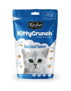 Kit Cat Kitty Crunch Seafood Cat Treat 60g