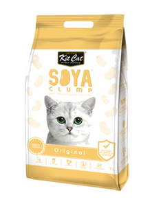 Kit Cat Soya Clump Original Cat Litter 7L