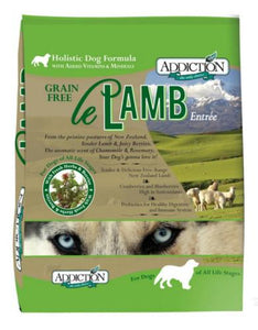 Addiction Le Lamb Dog Dry Food (3 Sizes)