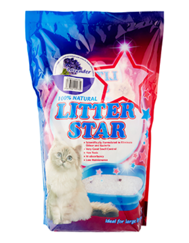 Litter Star Lavender Cat Litter (2 Sizes) | Waggymeal Online Pet Store MY